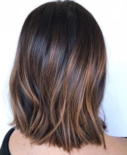Bob Haircut With Highlights