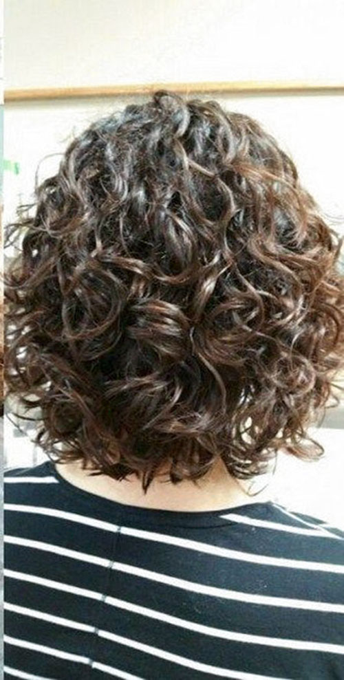 Layered Bob Haircuts For Curly Hair