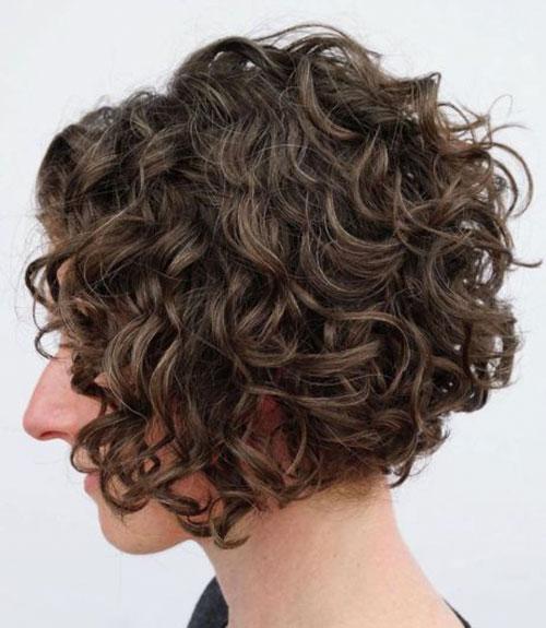 Curly Bob Layered
