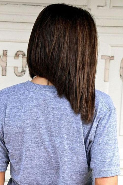 Long Angled Bob Haircut Pictures