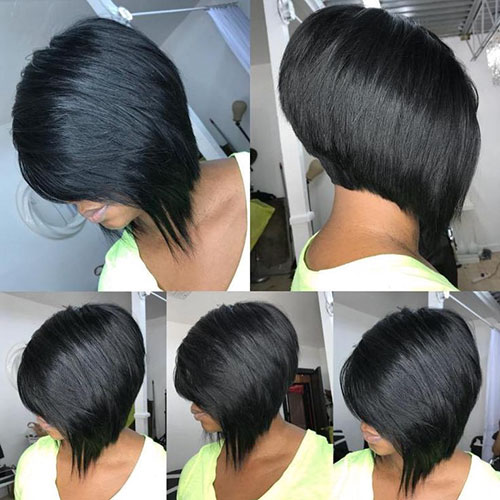 Weave Bob Black Hairstyles
