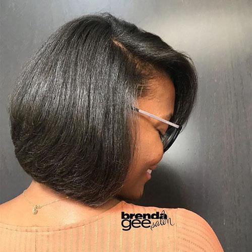 Layered Bob Haircuts For Black Hair