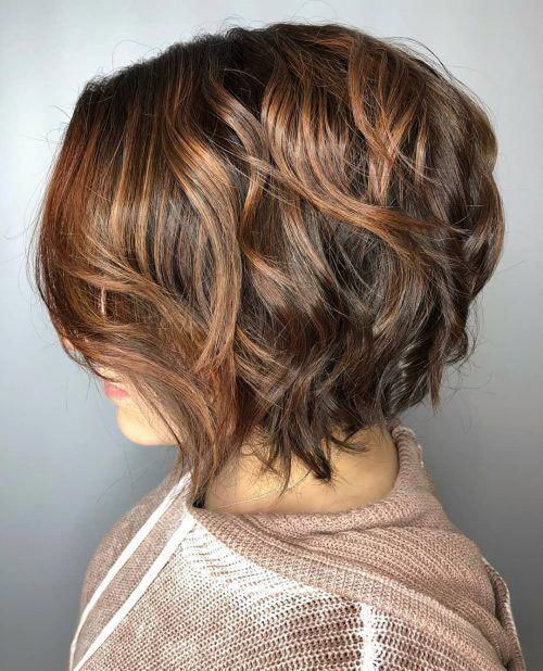 Bob Cut With Highlights