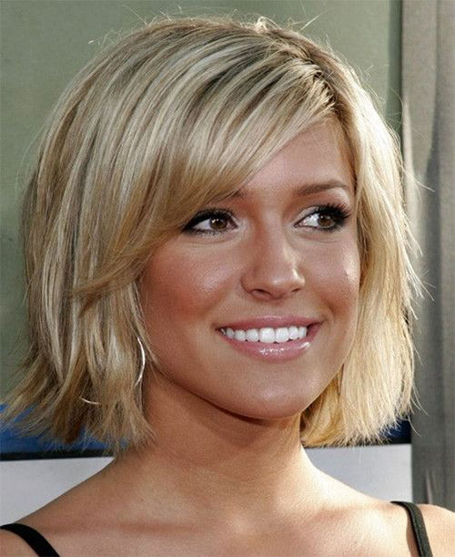 Bob Cut With Bangs For Round Face