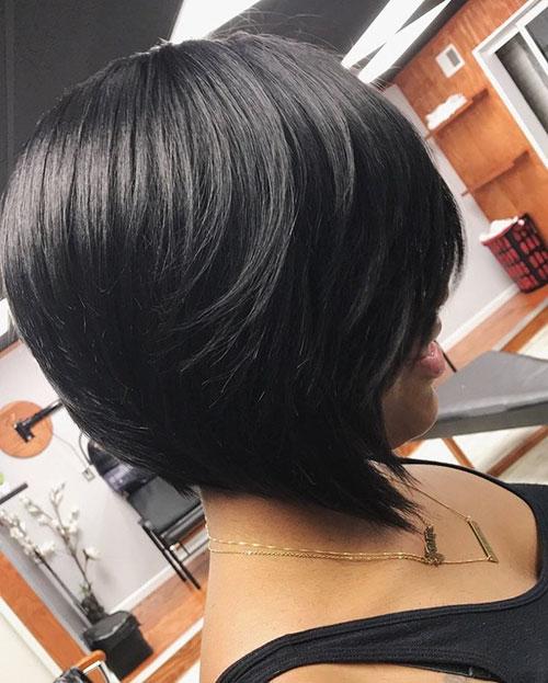 Layered Bob Black Hair