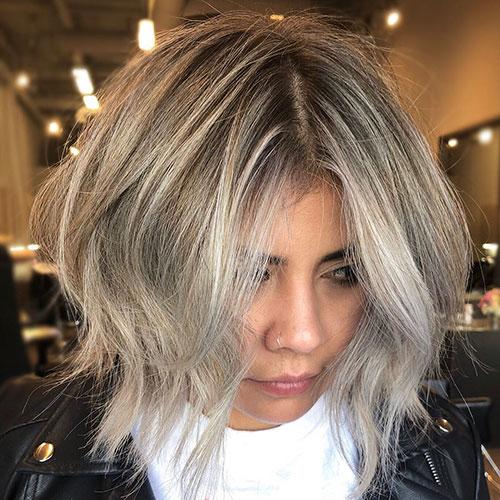 Messy Bob Haircut