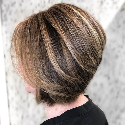 Angled Bob Hair Styles