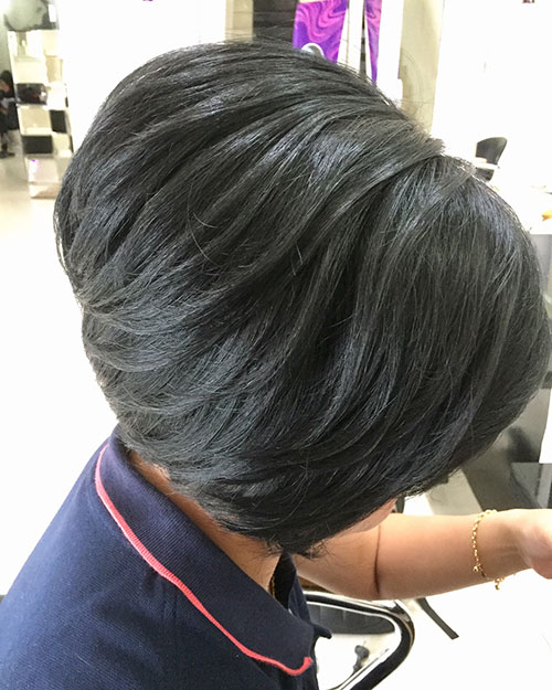 Graduated Bob Haircut