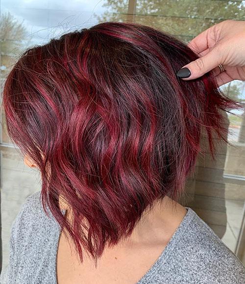 Textured Lob Haircut