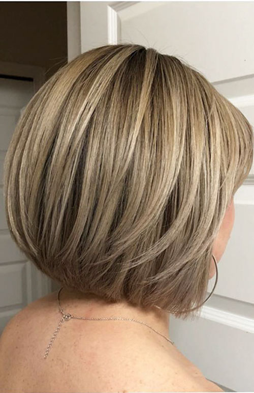 Pictures Of Graduated Bob Hairstyles