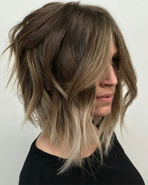 Textured Lob Hairstyles