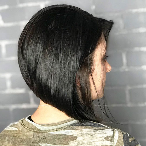 Extreme Angled Bob Hairstyles