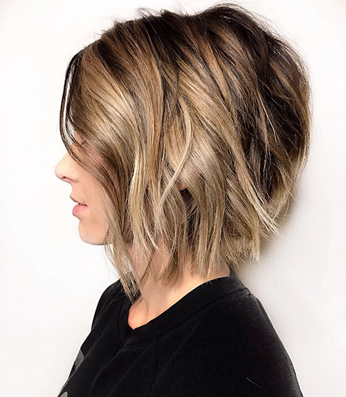 Images Of Layered Bob Haircuts