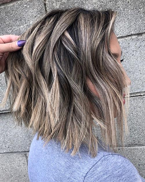 Textured Long Bob Hairstyles