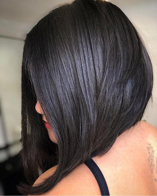 Medium Bob Cut Hairstyle