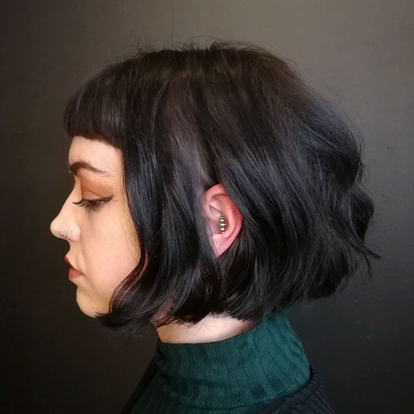 Short Blunt Bob Haircut