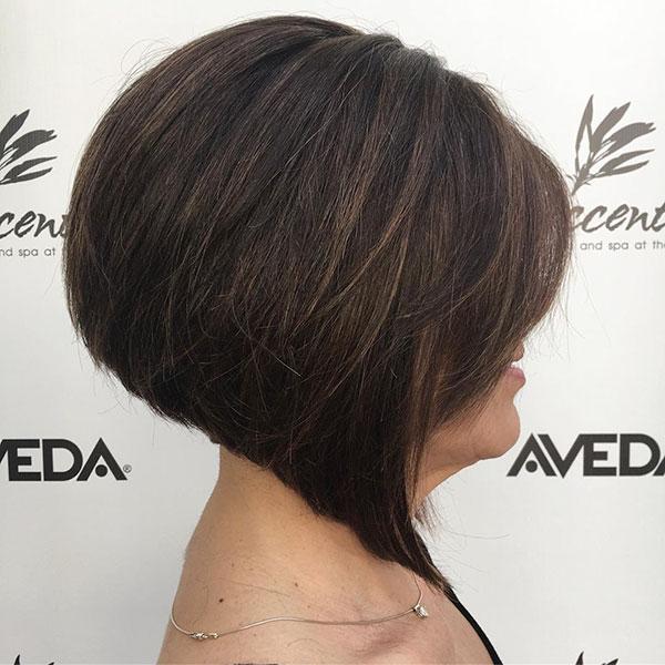 Angled Bob Haircuts
