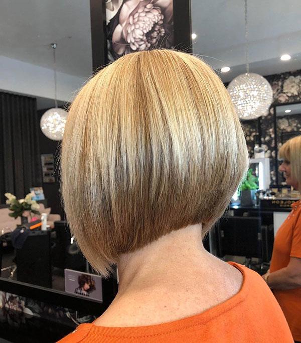 Medium A Line Bob Hairstyles