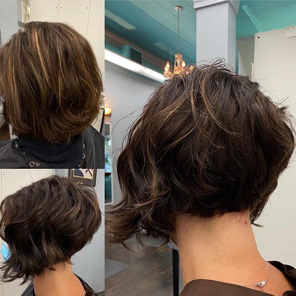 Short Layered Bob Hairstyles 2020