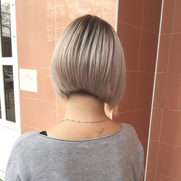 Medium A Line Haircut