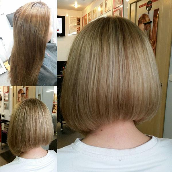 Medium A Line Bob Hairstyle Ideas