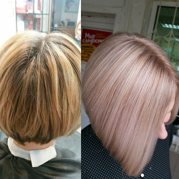 Medium A Line Hairstyles