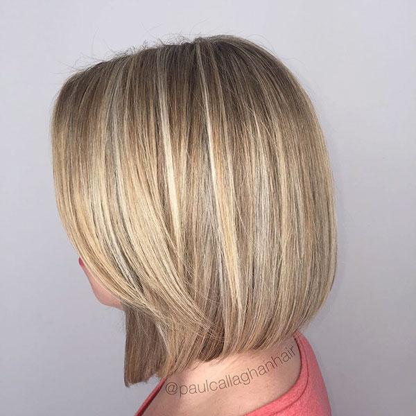 Medium Blunt Bob Haircuts