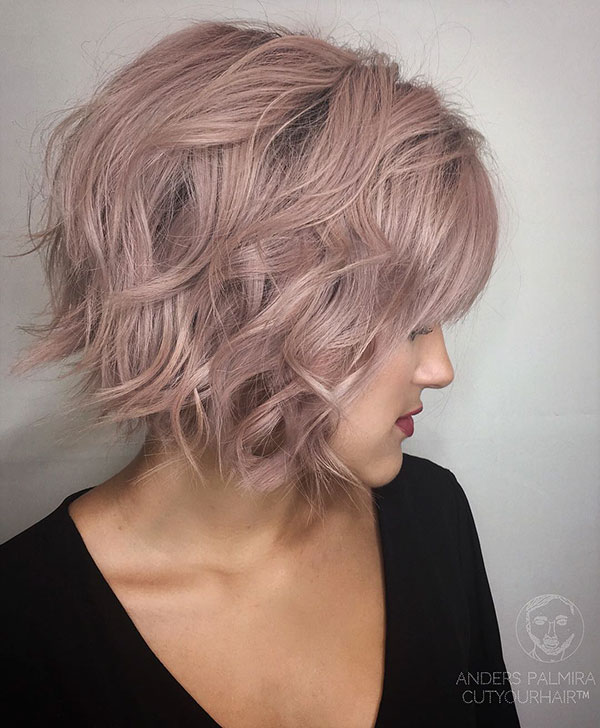 Pictures Of Short Graduated Bob Hairstyles