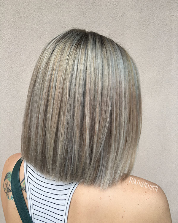 Medium Blunt Bob Cut Pictures